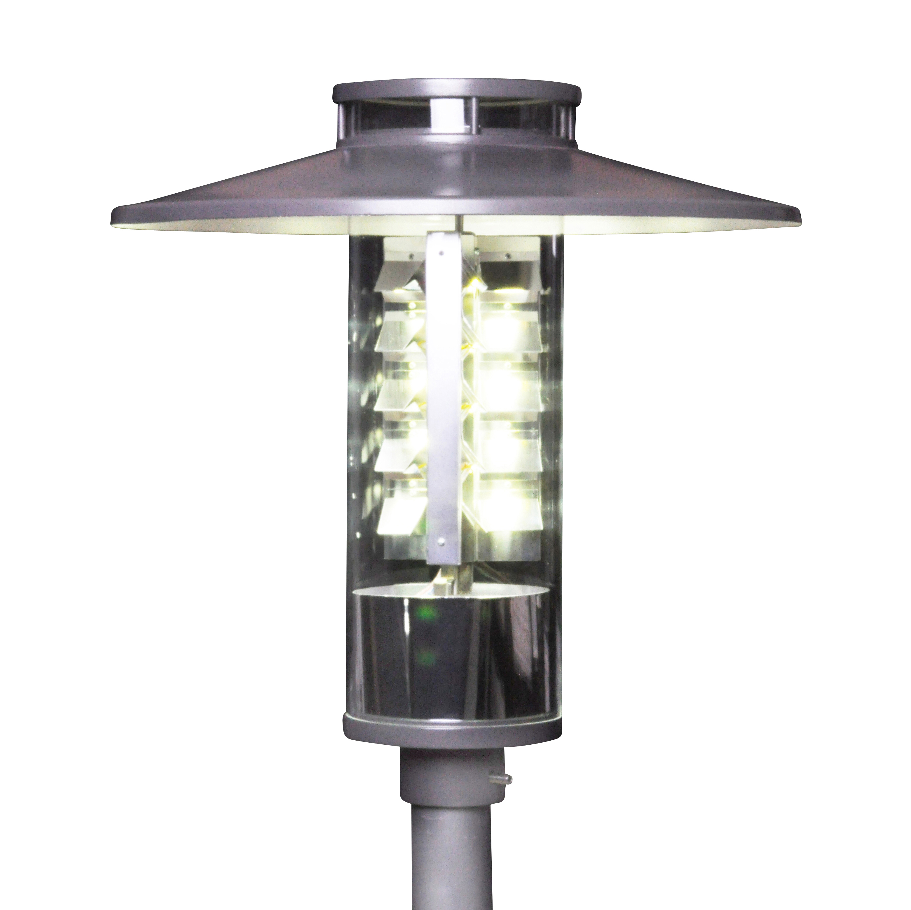 LED Round Luminaire With Skylight   With Umbrella Roof   LED Beleuchtung  Für Städte Und Kommunen   BöSha